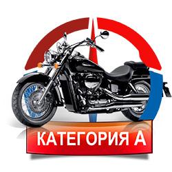 Получение прав на мотоцикл категории А